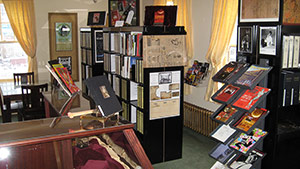Historic Theatres Library interior